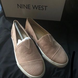 Nine West Pink Bollao slip on